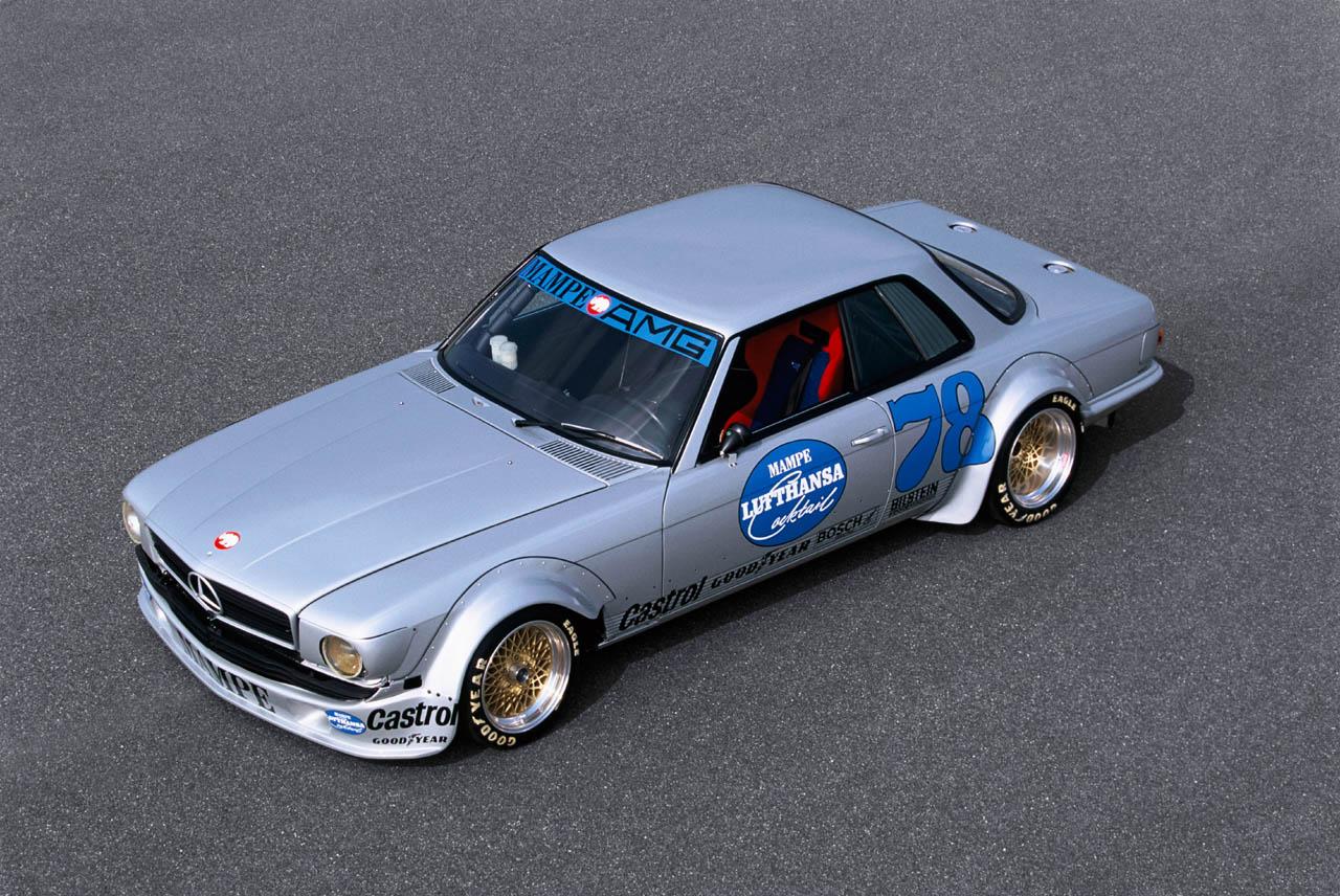 Mercedes benz c107 race car for Mercedes benz race car