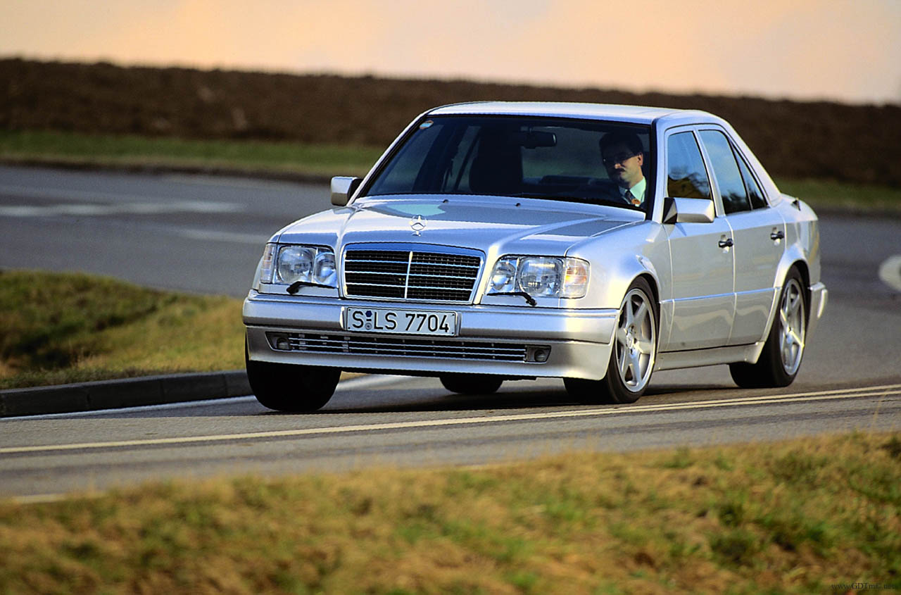124 E500Limited on mercedes benz w124